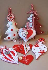 Christmas Felt Crafts  20 DIY Adorable U0026 Easy PatternsEasy Christmas Felt Crafts