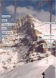 Because if its famous north face, the eiger is one of the most famous and written about peaks in the world. Eiger Wikipedia