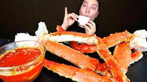 Bloves Sauce King Crab Legs • MUKBANG ...