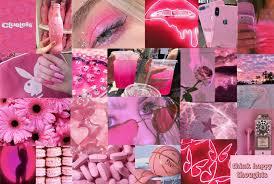 printable collage kit pink collage kit