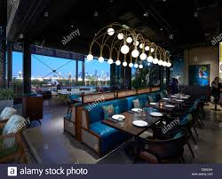 Lotus Architecture Interior Design Upper Level Restaurant Interior Masti Dubai Dubai United