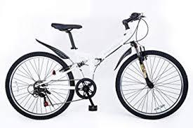 21technology 21テクノロジー Mtb 折りたたみ自転車 26x195タイヤ シマノ6段変速 前輪クイックレリース