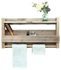teak corner bath shelf reclaimed wood bathroom farmhouse cabinets by home design