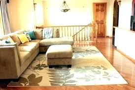 average size area rug living room sizes choosing typical rugs standard r