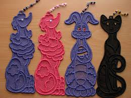 Free Standing Lace Easter Designs Free Standing Lace Bookmarks Machine Embroidery Brother