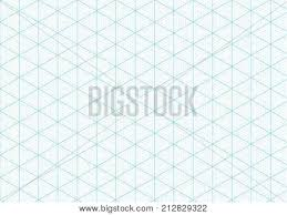 Isometric Graph Paper Vector Photo Free Trial Bigstock