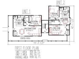 duplex plans 3 unit 2 floos 3 bedroom 3 bath front porch 2700 sq ft lafayette