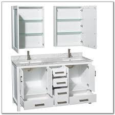 turner 58 inch double sink bathroom vanity