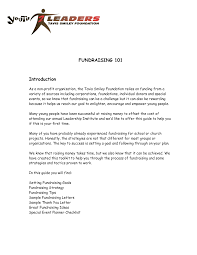 Best Photos Of Cover Letter Non Profit Organization Example