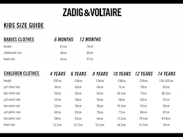 Zadig And Voltaire Size Chart Zadig Voltaire Kids Sleeveless T Shirt Wave Orange