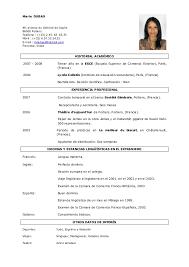 1ro Pamer Izaguirre Modelos De Curriculum Vitae
