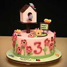 3 Year Old Garden Party Cake Jessica Harris Cake Design