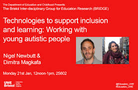 Working With Autistic People Bridge Education Research Seminar Technologies To Support