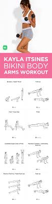 free pdf kayla itsines body guide arms circuit workout for women s