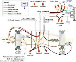 ceiling fan wall switch wiring diagram to light and home with for
