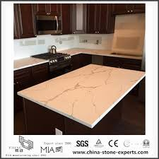 white calacatta engineered quartz stone kitchen countertops with cost manufacturers and suppliers china whole yeyang stone factory