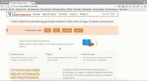 Citation Machine Apa Referencing The Best Machine