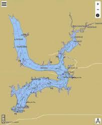 Kaw Lake Fishing Map Us_ub_ok_01754455 Nautical Charts App