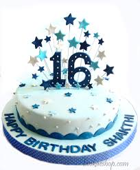 16th Birthday Cake Boy Theme 3lb Sri Lanka Online Shopping Site