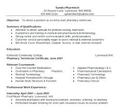 Pharmacy Tech Resume Sample Pharmacy Technician Resume Example Tech