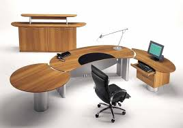 modular home office furniture round table design
