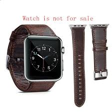 watch accessories new apple watch strap iwatch strap crazy horse retro wind wristband men and women casual apple leather watch bands canada alligator watch