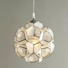 ceiling lights flower ceiling light shell pendant brand new fl lights white fan