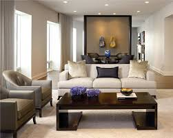 Formal Contemporary Living & Family Room by Gary Lee