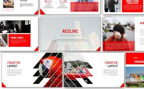 creative powerpoint templates redline creative powerpoint template 67143