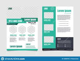 Meeting Flyer Design Business Meeting Flyer Vector Template Stock Vector