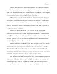 mla style essay one aspect of the current economic crisis 3