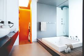 bathroom design photos. Bathroom Design: Open-concept Bathrooms In This Condo Apartment Design Photos