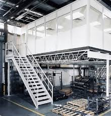 mezzanine office. Build An Office On Top Of The Mezzanine. Modular Offices Are Often Installed Mezzanines Where A Production Manager Can Have Their Own Space Mezzanine