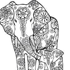 Elephants Coloring Pages Love Elephants Love Elephants Coloring Page