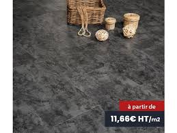 vinyl flooring tiles with system for high traffic areas black slate look