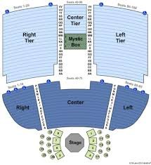 Mystic Lake Casino Theater Seating Chart