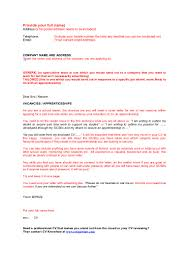 Simple Cover Letters Examples For School Leavers Profesional