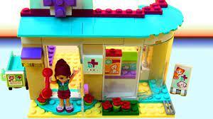 Đồ chơi LEGO Friends | đồ chơi trẻ em | Bệnh Viện Thú Lắp Ghép Trạm Chữa  Bệnh Chó Mèo