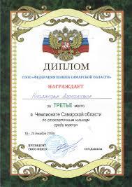 Достижения Спортивные награды Кафедра Прикладная математика и   Диплом iii
