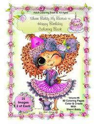 Bol Com Sherri Baldy My Besties Birthday Coloring Book Sherri Ann
