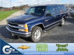 Used 1999 Chevrolet Suburban 2500 In Durand Michigan
