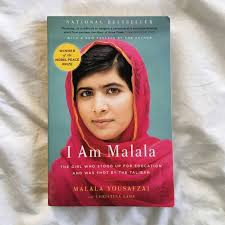 i am malala by malala yousafzai inspiring story soft cover book is in great condition accessories