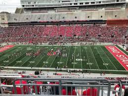 Ohio Stadium Seating Chart With Rows Ohio Stadium Section 20c Home Of Ohio State Buckeyes