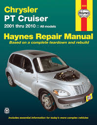 chrysler pt cruiser 01 10 haynes repair manual haynes manuals enlarge chrysler pt cruiser