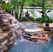 in ground pools with waterfalls. In-Ground Pool Waterfalls In Ground Pools With A