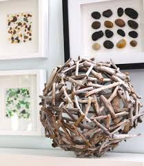 DIY Tutorial Driftwood Crafts / DIY Drift Wood Orb Tutorial - Bead&Cord