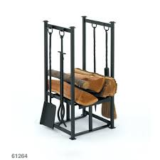 black log holder fireplace tools rack tool set with stand find pin fireplace tools