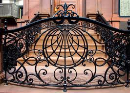 wrought iron fence victorian. Nice Rounded Flowing Wrought Iron Fence Victorian T