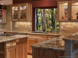 Wonderful Kitchen Ideas Wood Cabinets Designs Photo Gallery For 13 X 11 With Creativity