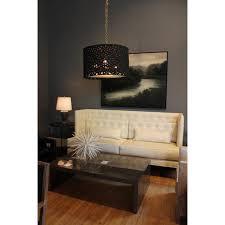 oly studio meri drum chandelier black candelabra inc in idea 16